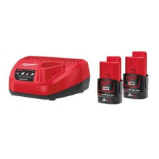 Комплект аккумулятор и зарядное устройство Milwaukee M12 NRG-302
