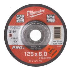 Шлифовальный диск по металлу Milwaukee SG 27 / 180 Х 6 PRO+