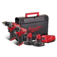 Набор инструментов M12 Milwaukee FPP2A-402X
