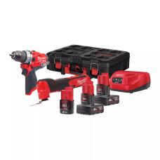 Набор инструментов Milwaukee M12 FPP2AX-423P