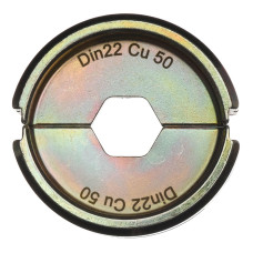 Матрица для обжимного инструмента Milwaukee DIN22 Cu 50
