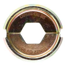 Матрица для обжимного инструмента Milwaukee DIN22 Cu 95