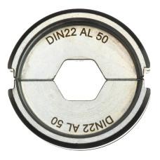 Матрица для обжимного инструмента Milwaukee DIN22 AL 50