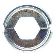 Матрица для обжимного инструмента Milwaukee DIN22 AL 95/120