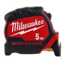 Рулетка Milwaukee Премиум с широким полотном 5 м