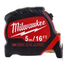 Рулетка Milwaukee Премиум с широким полотном  5м-16фт (футовая)