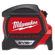 Рулетка Milwaukee Magnetic Tape Premium 5 м/16 дюймов